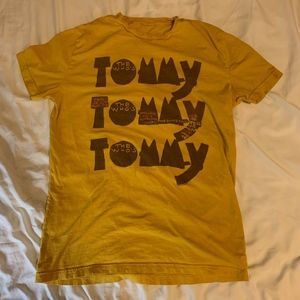 Other - The Who's Tommy T-shirt, Yellow